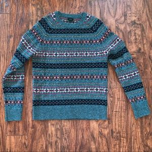 J. Crew Fairisle Sweater